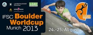 Munich Bouldering World Cup Banner