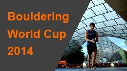 2014 Bouldering World Cup page