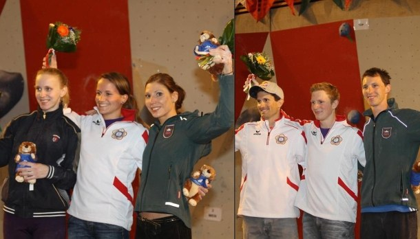 Annecy Bouldering Podiums