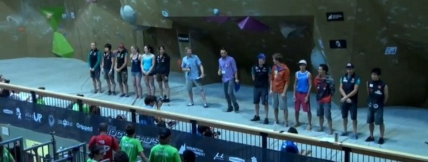 Toronto Bouldering World Cup Finals