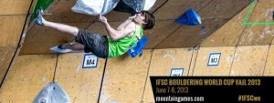 Vail Bouldering World Cup Banner