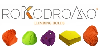 Rokodromo Climbing Holds logo